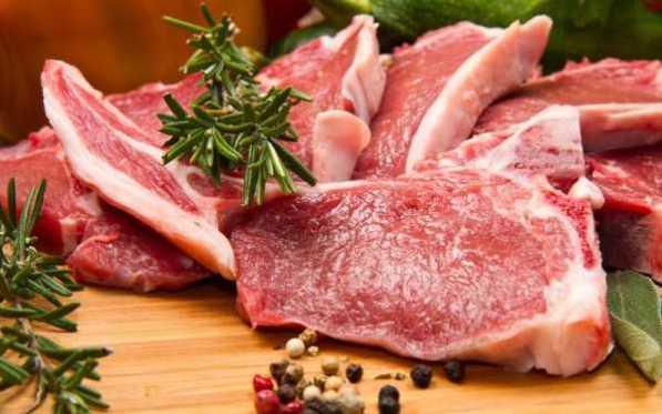 carne fresca da allevamento
